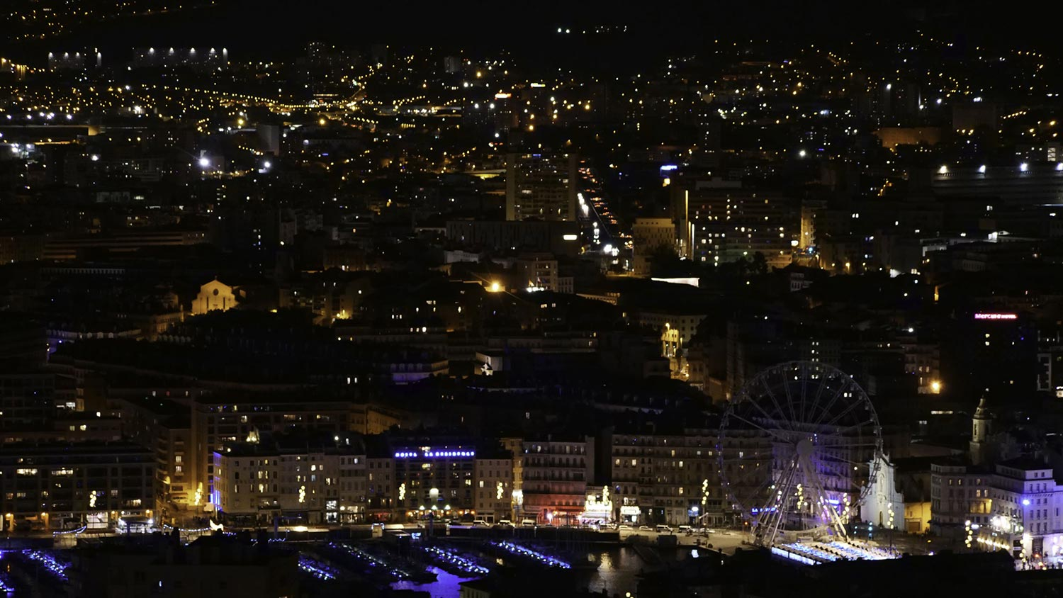 Photos de Marseille nocturne 2018 ou Marseille by night ?