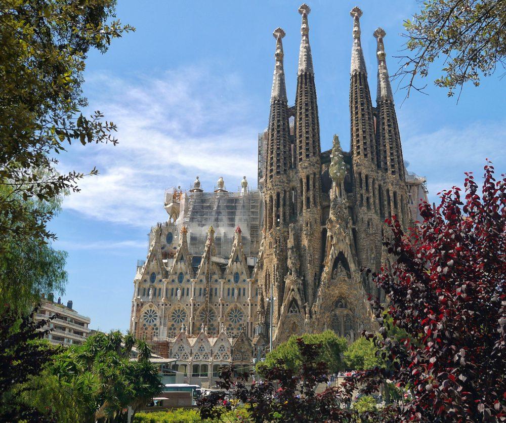 Sagrada Familia à Barcelonne