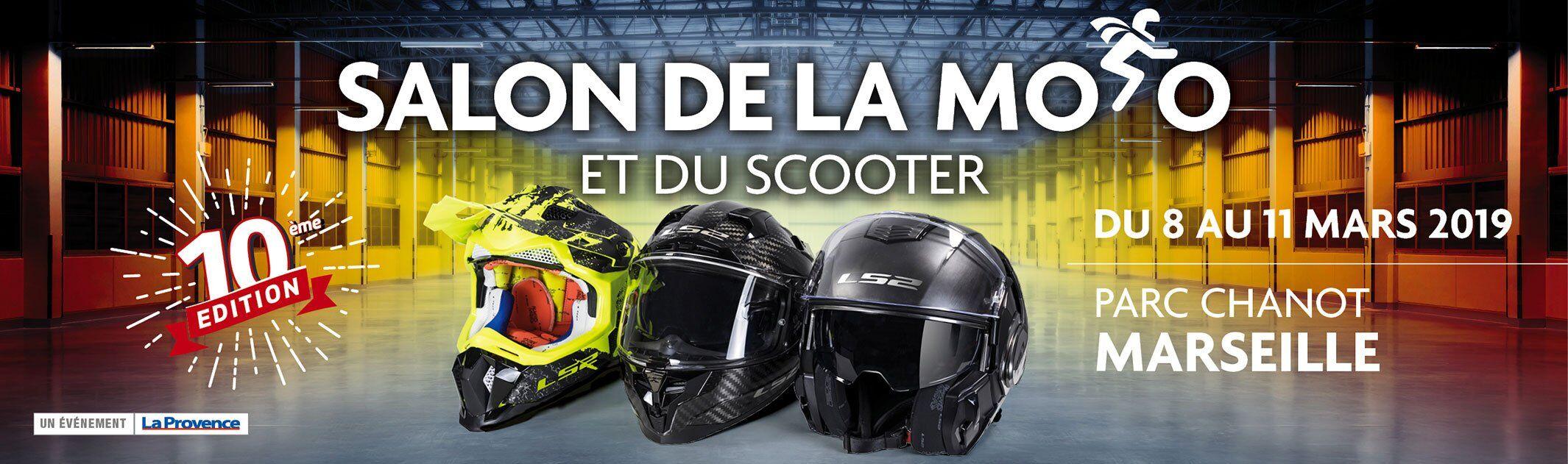 Salon de la moto et du scooter 2019 au Parc Chanot à Marseille