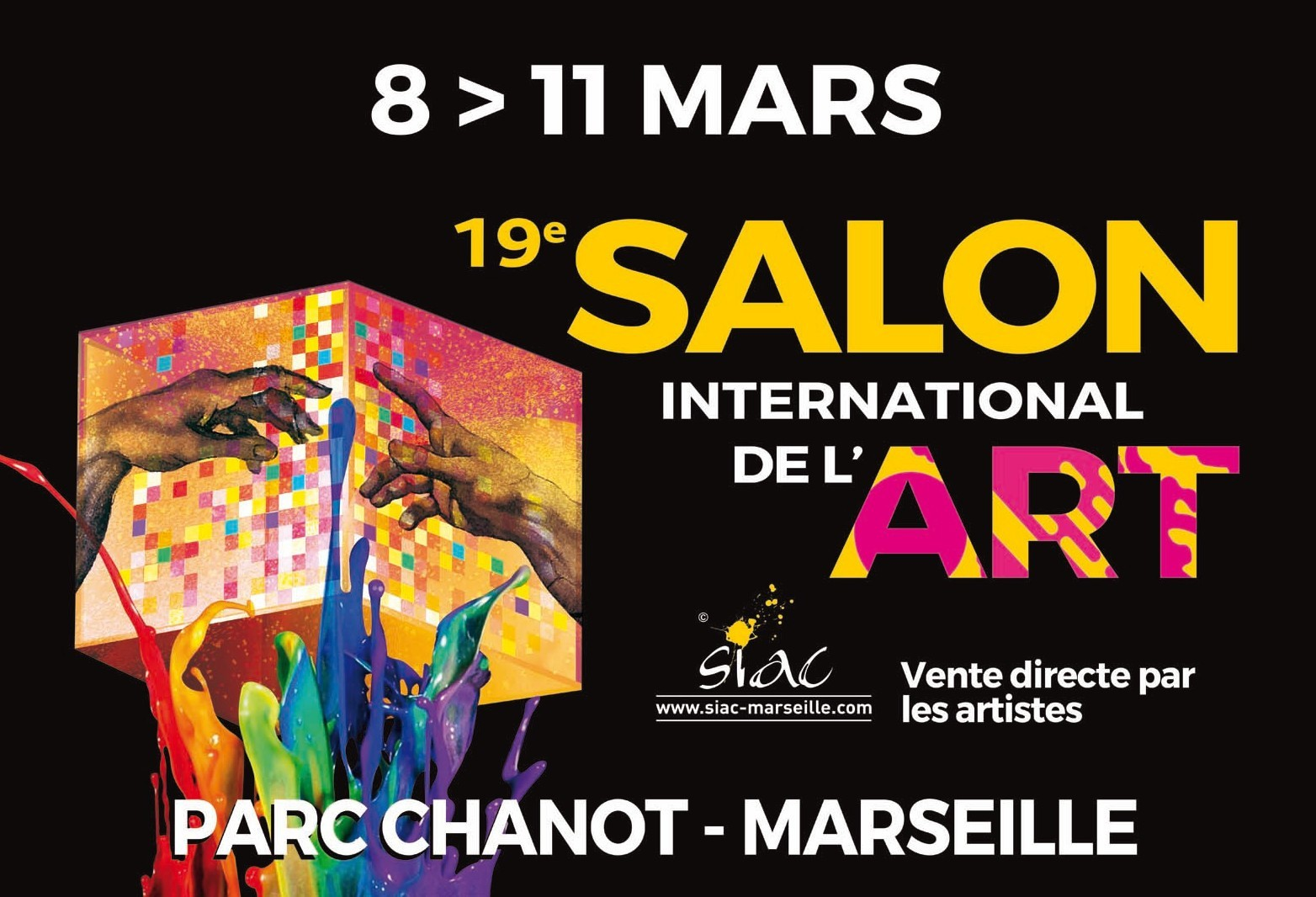 SIAC 2019 Salon International de l'Art Contemporain à Marseille au Parc Chanot