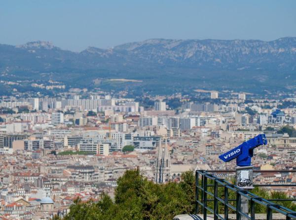 Photos de Marseille vue de Notre Dame de la Garde