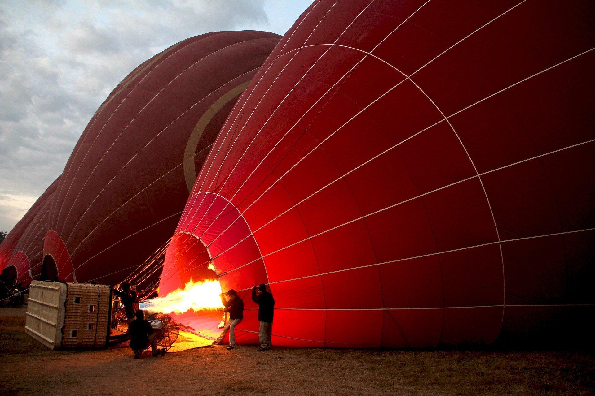 Voler en montagne en montgolfière, un peu de technique