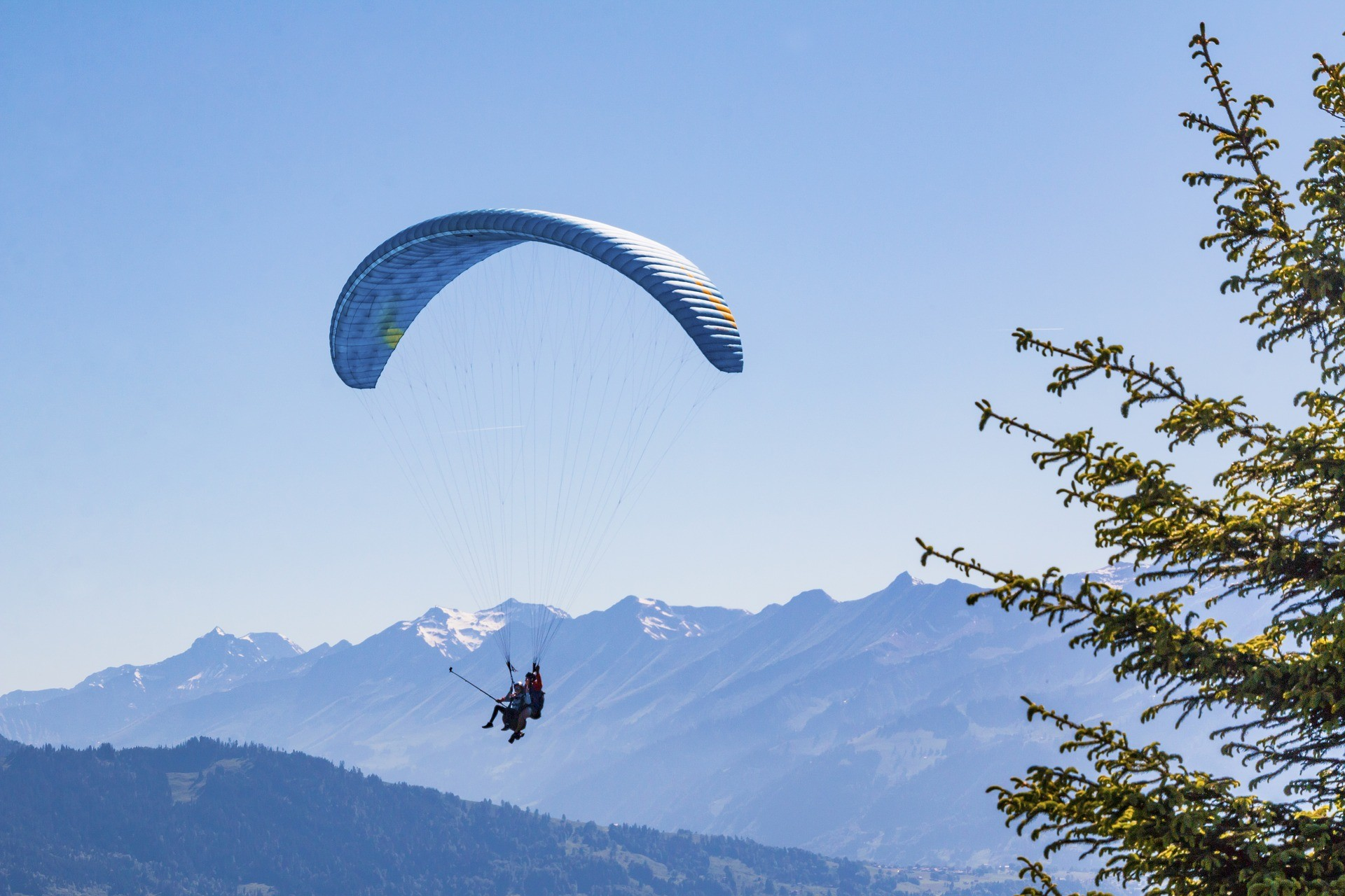Weekend à la station de ski les deux Alpes, hiver comme été