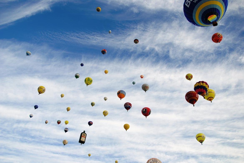 Praz-sur-Arly montgolfières