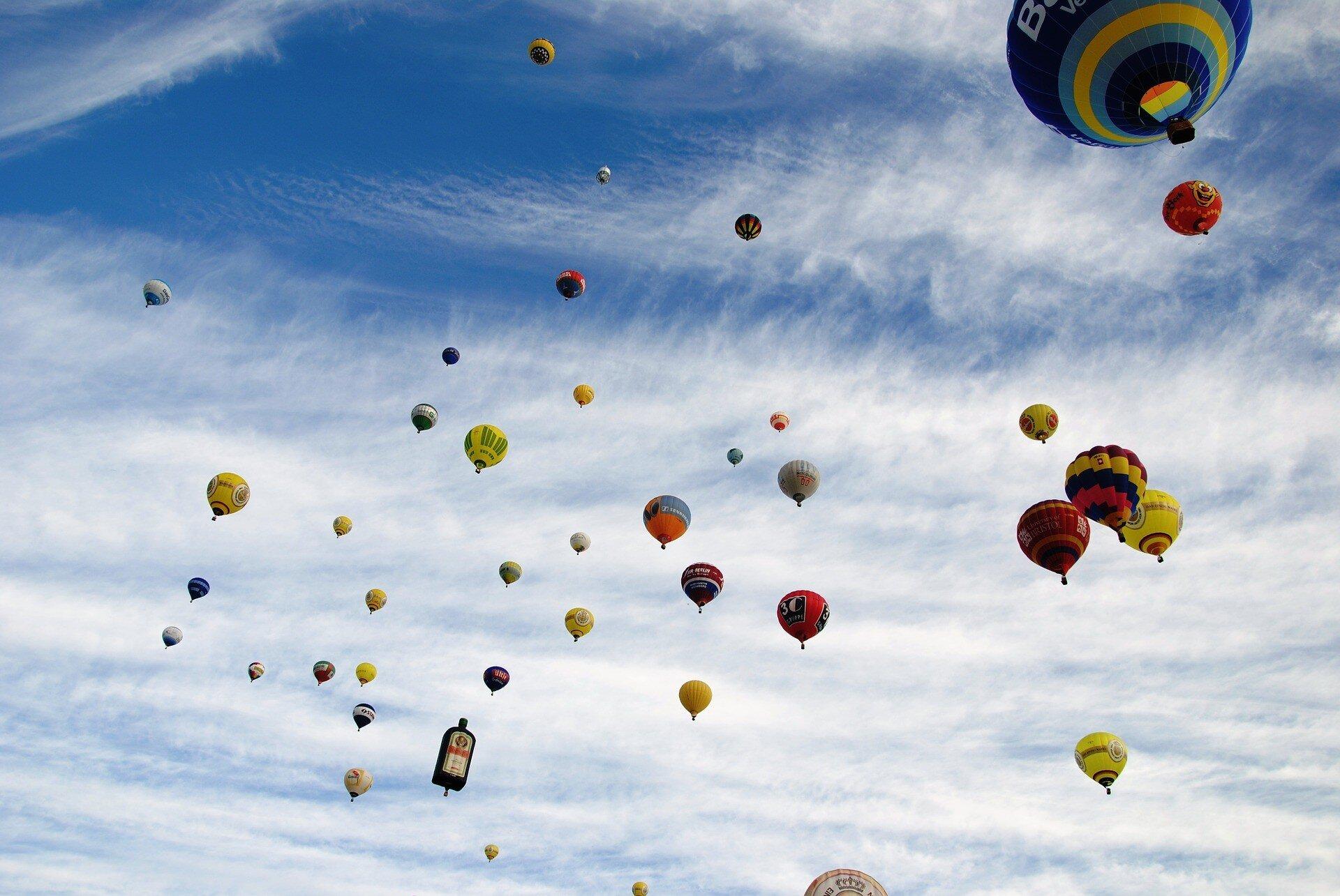 Offrir un vol transalpin en montgolfière à Praz sur Arly