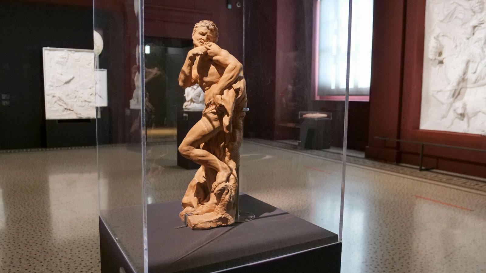 Le faune sculpture de Pierre Puget