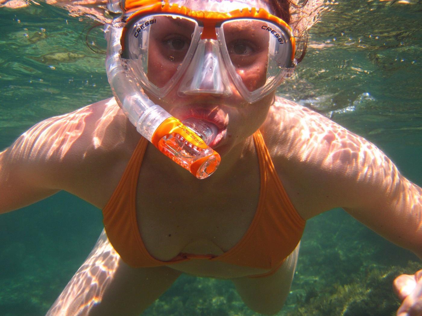 faire de la plongée sous marine