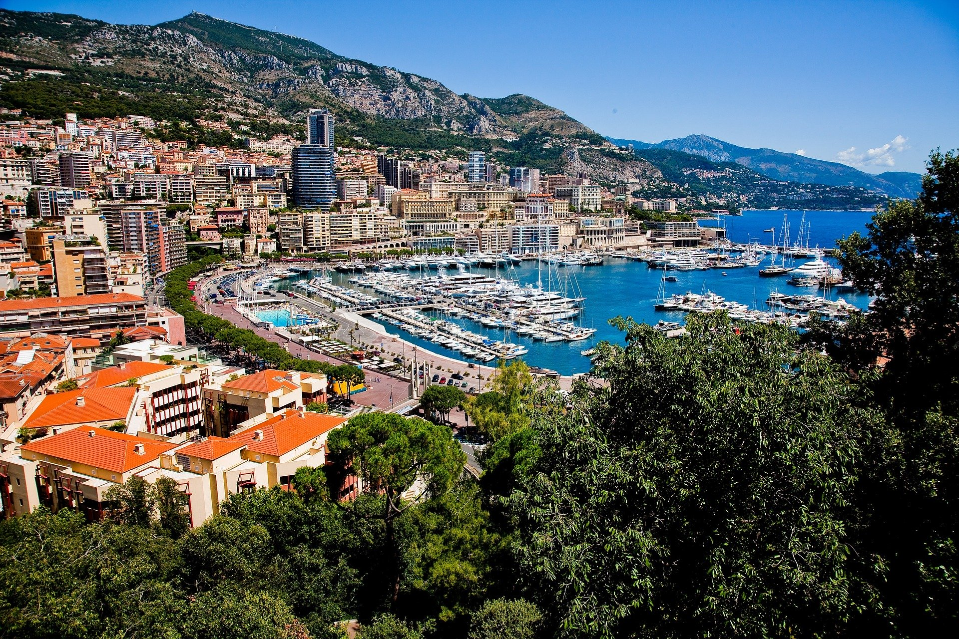 Les hôtels de Monaco