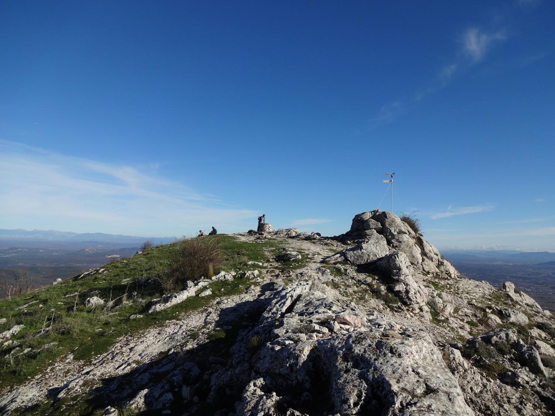 Pic des Mouches Sainte-Victoire-automne